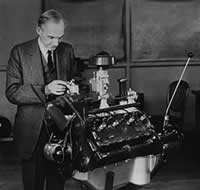 The Flathead was the first independently designed and built V8 engine mass produced by the Ford Motor Company.